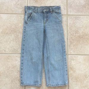 OshKosh B'gosh Boys Straight Distressed Blue Jeans
